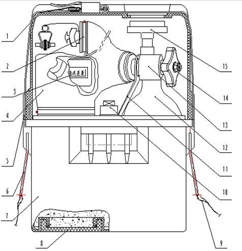 瑞达压缩氧自救器使用过程详细分解图解析